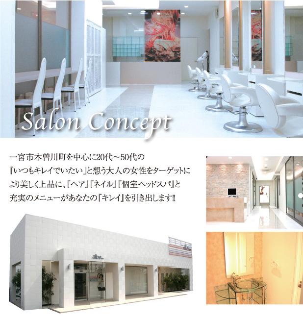 Concept & Salon Info